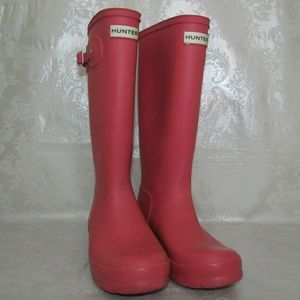 HUNTER boots Youth size 5 (US)